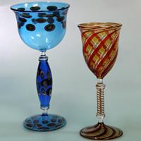 ヴェネチアンリキュールグラス