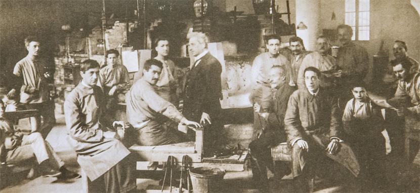 1920年頃のバロヴィエール工房