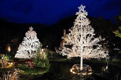 クリスマス クリスタル・イルミネーション