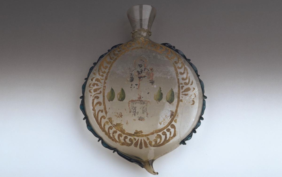 「バーリの聖ニコラウス文聖水瓶」 16世紀 ヴェネチア