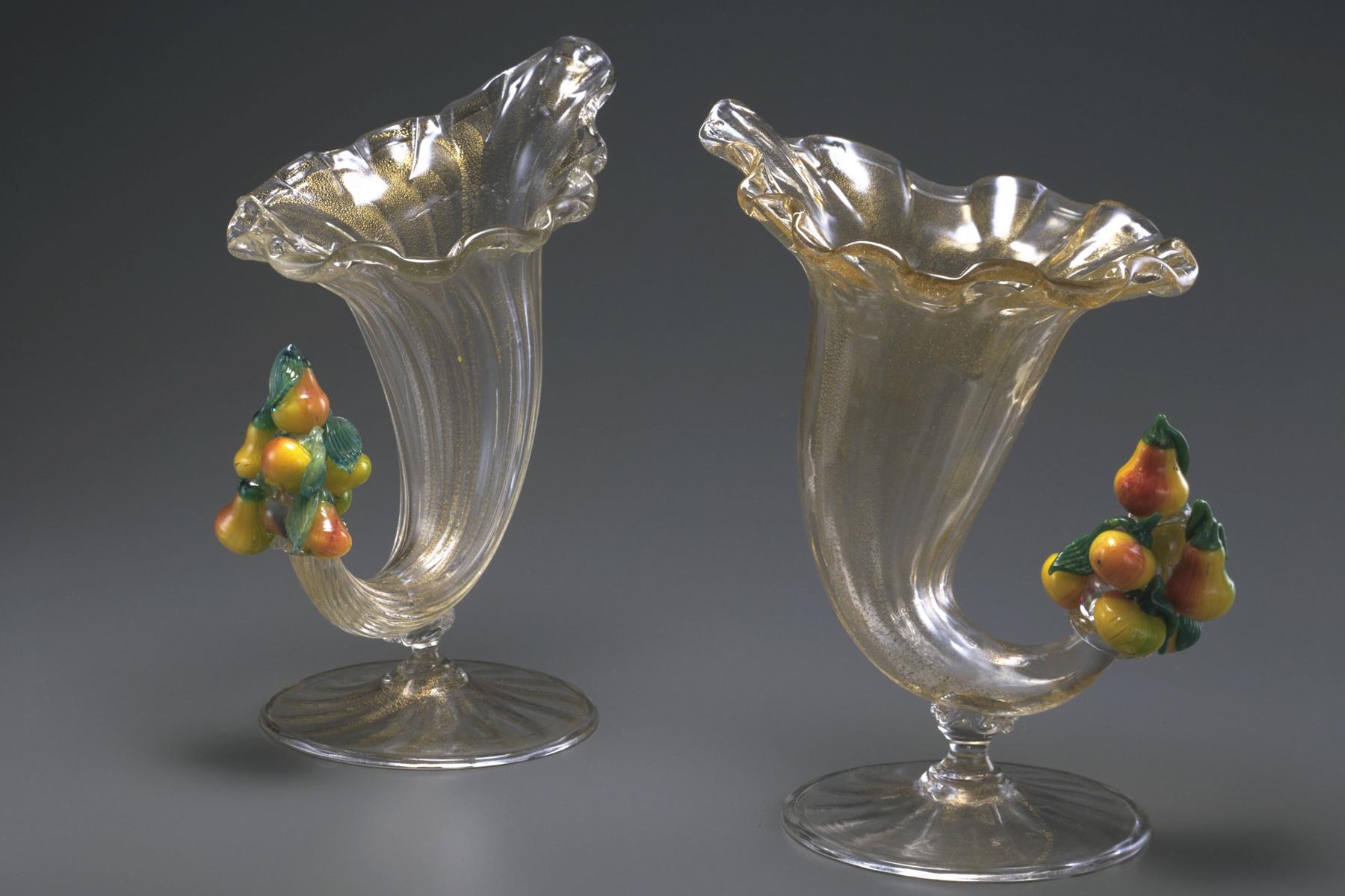 果物装飾角形坏 (19世紀|ヴェネチア)